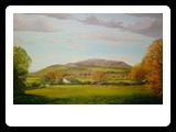 View Of Slieve Gullion From Forkhill oils on canvas 30x20inch